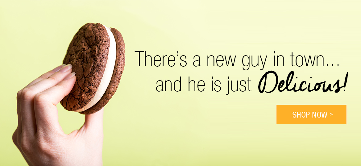 There's a new guy in town... and he is just Delicious: Shop Now