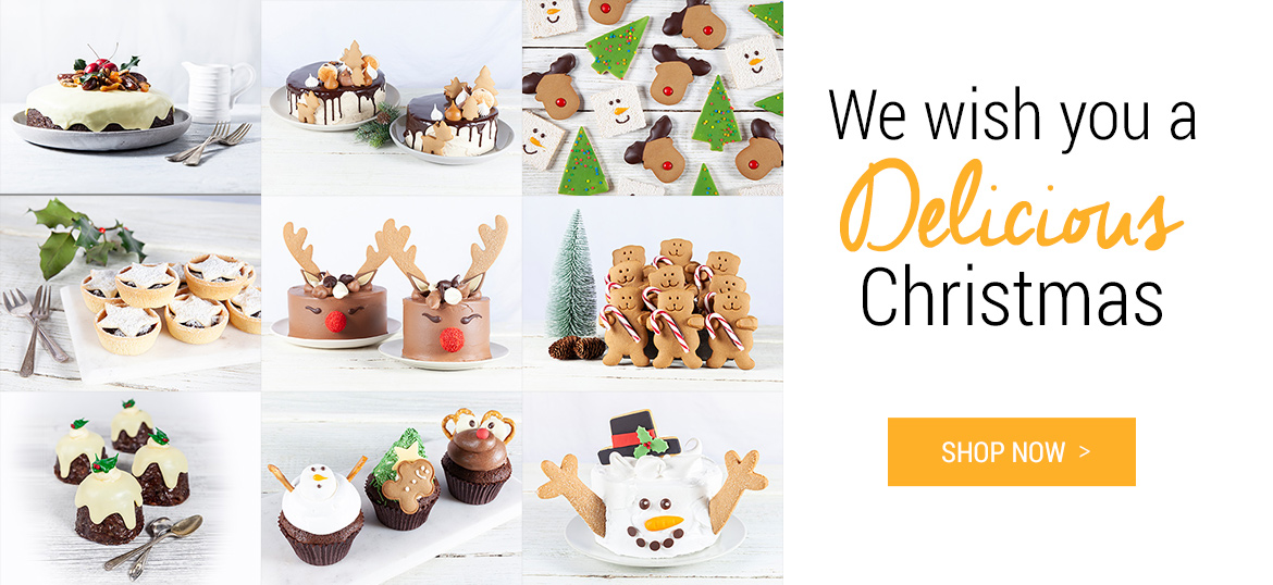 We wish you a Delicious Christmas - Shop Now