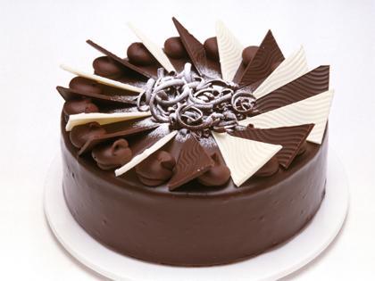 "MQ 12"" Chocolate Ripple Cake"