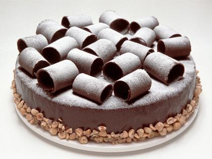 "MQ 10"" Flourless Choc Hazelnut Cake"