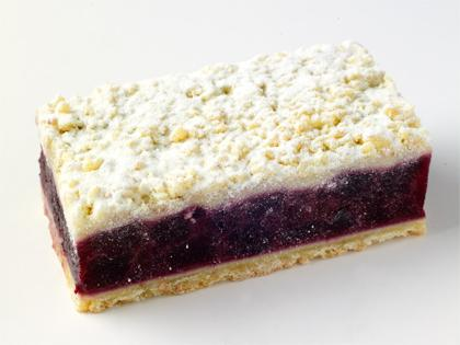 TC Blueberry Apple Crumble Slice