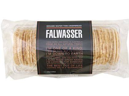 BB 120g FALWASSER CRISPBREAD Sesame