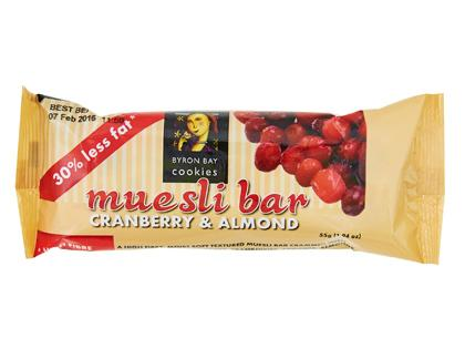 BB 55g x 20 Bars Cranberry & Almond Muesli Cookie Bar