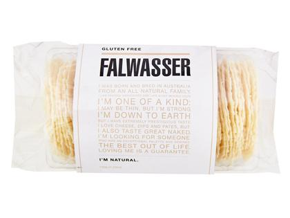 BB 120g FALWASSER CRISPBREAD GF Natural