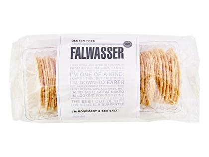 BB 120g FALWASSER CRISPBREAD GF Rosemary & Sea Salt