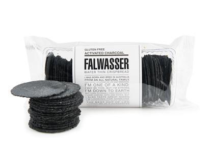 BB 120g FALWASSER CRISPBREAD GF CHARCOAL