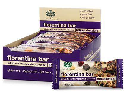 BF Box Brookfarm Bars 35g - GF Florentina Bar
