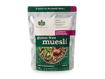 BF 1.0KG Gluten Free Cranberry Macadamia Muesli