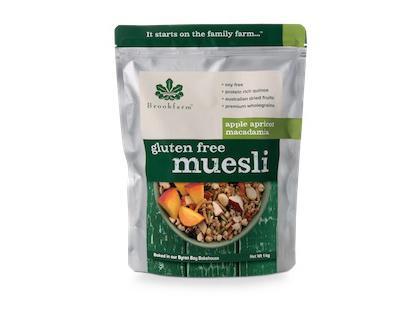 BF 1.0KG Gluten Free Apricot Macadamia Muesli
