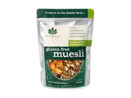 BF 350G Gluten Free Apricot Macadamia Muesli