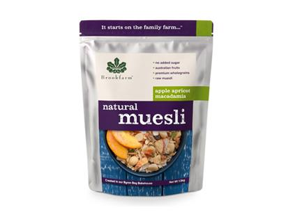 BF 1.5KG Natural Apricot Macadamia Muesli