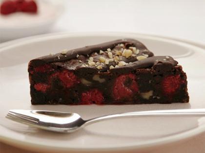 BP Chocolate & Raspberry Brownie Slice Gluten Free