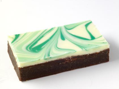 TC Choc Mint Brownie Slice