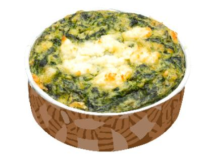 Baby Spinach & Fetta Gluten-Free Frittata
