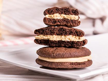 INF whoopiescookies Peanut Butter & Chocolate - Flourless