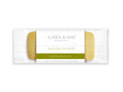 LM 18g x 100 Pack Everyday Moments Lemon Shortbread