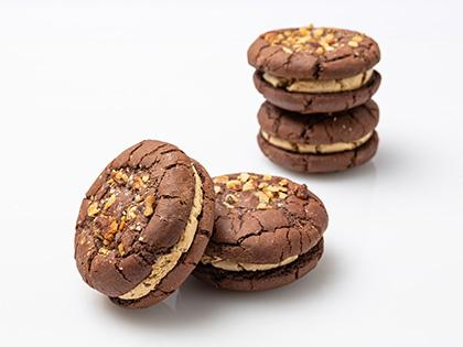Whoopiescookies Espresso & Walnut - Flourless (4 Pk)