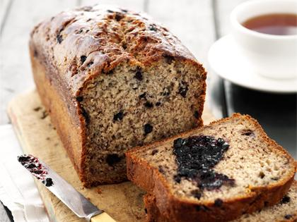 MK Blueberry Banana Bread