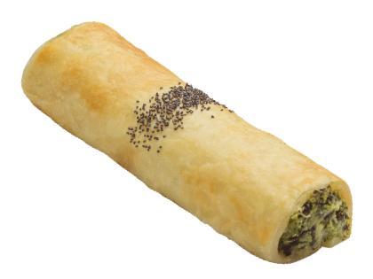 Garden Spinach & Fetta Gourmet Roll