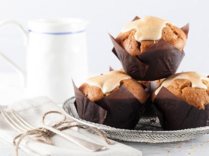 SBN Mega muffin Apple Cinnamon (6PK)