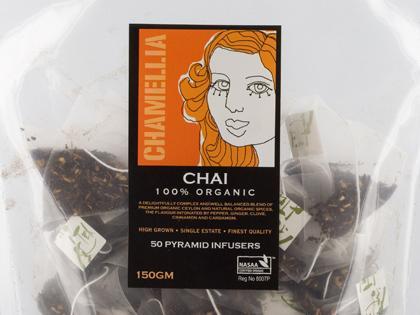 CT Pyramid Tea Bags Masala Chai Organic