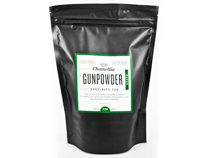 CT Loose Leaf Gunpowder Green Tea Organic