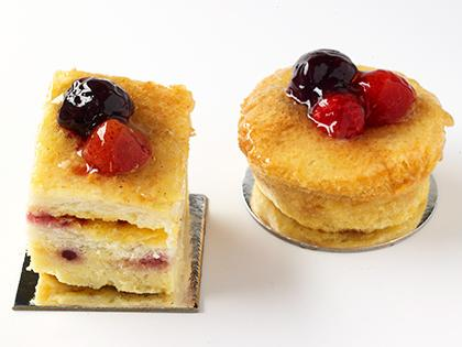 TC 2.5 Tiny Berry Bread & Butter Pudding