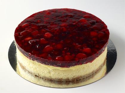"""TC 9""""  Medium Cheese Cake Mixed Berry"""