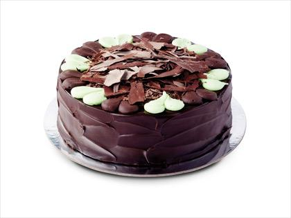 Mint Chocolate Ripple Cake 12"