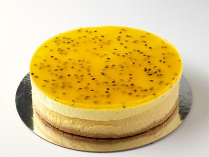 "TC 9""  Medium Cheese Cake Passionfruit Mousse"