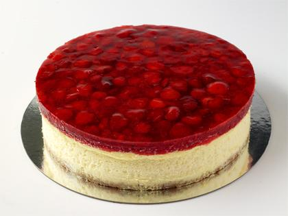 "TC 12"" Cheese Cake Strawberry"