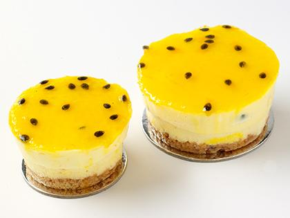 TC 2.5 Tiny Cheesecake Passionfruit Mousse