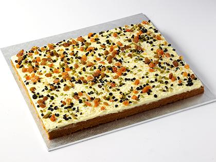 TC SLAB Carrot Cake- UNCUT Available in 15,21,24,27,35,48,60,63,72,90