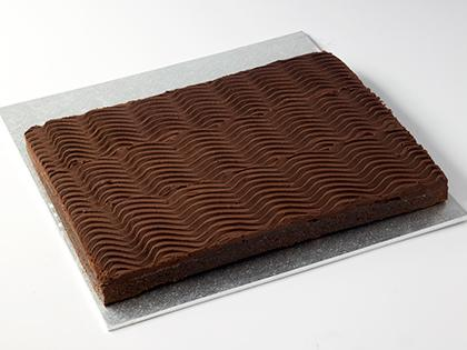 TC SLAB Chocolate Mud Cake- UNCUT
