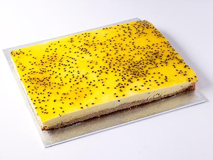 TC SLAB Cheesecake Passionfruit Mousse- UNCUT