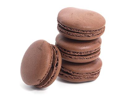 TC Macarons Standard Dark Chocolate