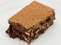 INF Flourless Nutty Brownie Slice