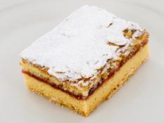 INF Raspberry & Almond Frangipani Slice