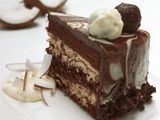 "MQ 10"" Chocolate Coconut Truffle Cake"
