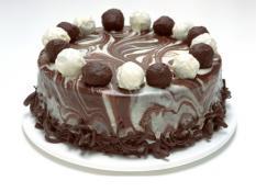 "MQ 13"" Chocolate Coconut Truffle Cake"
