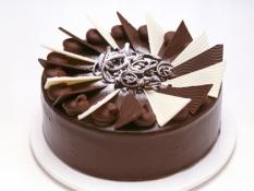 "MQ 12"" Chocolate Ripple Cake"