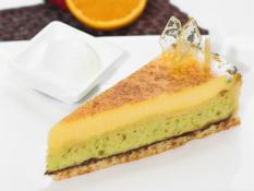 "MQ 10"" Orange & Pistachio Tart"