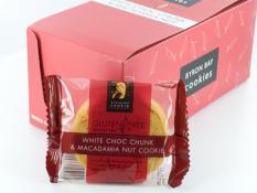 BB GLUTEN FREE White Choc & Macadamia (box 12)