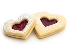 CC Large Jam Hearts 32x38g