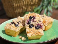 SBN Vegan Lemon Blueberry Bar
