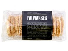 BB 120g FALWASSER CRISPBREAD Cracked Pepper & Chive