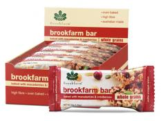 BF Box Brookfarm Bars 35g - Toasted Mac and Cranberry