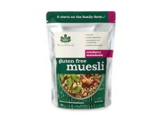 BF 350G Gluten Free Cranberry Macadamia Muesli