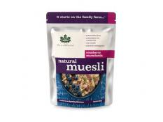 BF 500G Natural Cranberry Macadamia Muesli No GST