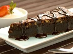 BP Choc Fudge Walnut Brownie Slice Gluten Free